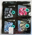 12 Pack Assorted Color Camo Reusable Face Masks w/ Ear Loops