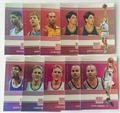 2017/18 NBA Panini Status Quo 10 Card Insert Lot *CLOSEOUT*
