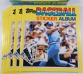 1981 Topps Baseball Sticker Album 13 Count Lot (No Box) *NEW*