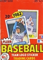 1982 Fleer Baseball Wax Box - 36 Packs *NEW*