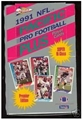 1991 Pacific Plus NFL Series 1 Trading Cards - 24 Pack Jumbo Box *SALE*