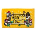 Pittsburgh Steelers Official Gold Holiday Nutcracker Terrible Towel *NEW*