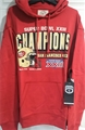San Francisco 49ers Gridiron Collection NFL Red Crosstown Striker Mens Hoodie *SUPER BOWL SPECIAL*