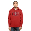 San Francisco 49ers NFL Red Knockaround Headline Pullover Mens Hoodie *SALE* Size 3XL