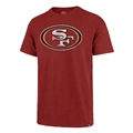 San Francisco 49ers NFL Rescue Red Mens Grit Scrum T Shirt *NEW*