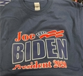 Joe BIDEN for President 2020 Navy Blue T Shirt Size M