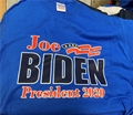 Joe BIDEN for President 2020 Royal Blue T Shirt Size M