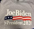 Joe Biden for President 2020 Ash T Shirt Size S