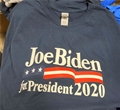 Joe Biden for President 2020 Navy Blue T Shirt