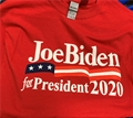 Joe Biden for President 2020 Red T Shirt