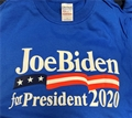 Joe Biden for President 2020 Royal Blue T Shirt