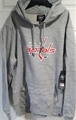 Washington Capitals NHL Slate Grey Knockaround Headline Pullover Mens Hoodie *NEW* Size 2XL