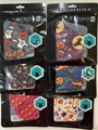 Halloween Design Reusable Face Masks w/ Ear Loops - 1 Dozen