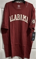 Alabama Crimson Tide NCAA Cardinal Embroidered Fieldhouse Men's Tee Shirt *NEW*
