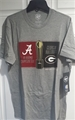 Alabama Crimson Tide NCAA Slate Grey CFP Mens Playoff Club T Shirt *CLOSEOUT* One Dozen
