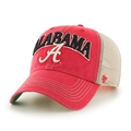 Alabama Crimson Tide NCAA Vintage Red Tuscaloosa Snapback Mesh Clean Up Hat *NEW*