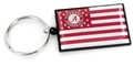 Alabama Crimson Tide NCAA Americana Flag Keychain *NEW*