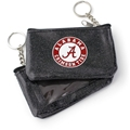 Alabama Crimson Tide NCAA Black Sparkle Coin Purse *NEW*