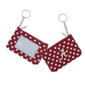 Alabama Crimson Tide NCAA Nylon Coin Purse Key Ring
