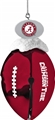 Alabama Crimson Tide NCAA Metal Football Bell Ornament *NEW* - 6 Count Case
