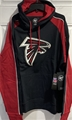 Atlanta Falcons NFL Jet Black Main Event Embroidered Men's Hoodie *NEW*