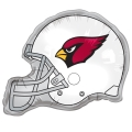 "Arizona Cardinals NFL 26"" Mylar Helmet Balloon - BULK *APRIL CLOSEOUT*"