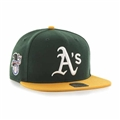 Oakland Athletics MLB Dark Green Sure Shot Two Tone Captain Snapback Hat *NEW*