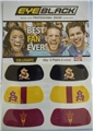 Arizona State Sun Devils NCAA 6 Pack Eye Black Strips *CLOSEOUT*