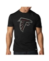 Atlanta Falcons NFL Jet Black Scrum T Shirt *NEW*