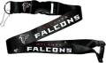Atlanta Falcons NFL Black Lanyard
