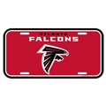 Atlanta Falcons NFL Souvenir Plastic License Plate
