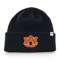 Auburn Tigers NCAA Navy Raised Cuff Knit *NEW*