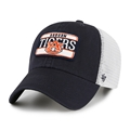 Auburn Tigers NCAA Vintage Navy Fluid 2 Tone Clean Up Adjustable Snapback Mesh Hat *NEW*