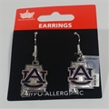Auburn Tigers State Design NCAA Dangle Earrings *SALE*