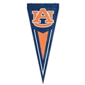 "Auburn Tigers NCAA 34"" x 14"" Embroidered 1-Sided Yard & Wall Pennant Flag *CLOSEOUT*"