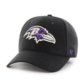 Baltimore Ravens NFL Black Kick Off Contender Stretch Fit Hat *NEW*