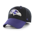 Baltimore Ravens NFL Kick Off 2 Tone Contender Stretch Fit Hat *NEW*
