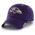 Baltimore Ravens NFL Purple Ice Clean Up Adjustable Hat