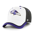 Baltimore Ravens NFL Crash Line Contender Stretch Fit Hat *NEW*