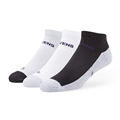 Baltimore Ravens NFL Tonal Rush Motion Low Cut Sock 3 Pack *NEW* Size M