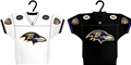 Baltimore Ravens NFL Home & Away Jersey Ornament 2 Pack Set *NEW* - 6 Count Case
