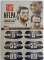 Baltimore Ravens Players NFLPA 6 Pack Eye Black Strips *CLOSEOUT* 20ct Lot