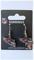 Baltimore Ravens State Design NFL Dangle Earrings