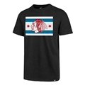 Chicago Blackhawks NHL Jet Black Regional Club T Shirt *CLOSEOUT*