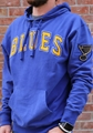 St. Louis Blues NHL Royal Striker Embroidered Mens Hoodie *NEW*