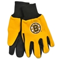 Boston Bruins Logo NHL 2 Tone Sport Utility Work Gloves *SALE*