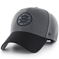 Boston Bruins NHL Charcoal Two Tone MVP Adjustable Hat *NEW*