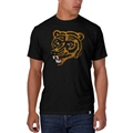 Boston Bruins NHL Vintage Jet Black Scrum T Shirt *CLOSEOUT*