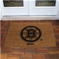 Boston Bruins NHL Flocked Coir Door Mat 6ct Case *CLOSEOUT*