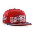 Montreal Canadiens NHL Red Glowdown Captain Adjustable Snapback Hat *NEW*
